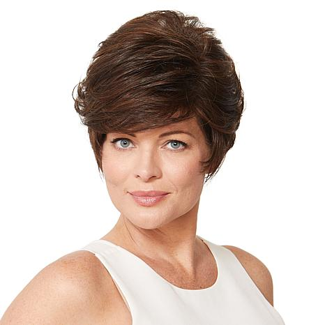 Gabor Essentials Medium Brown Pixie This Short Cut Wig