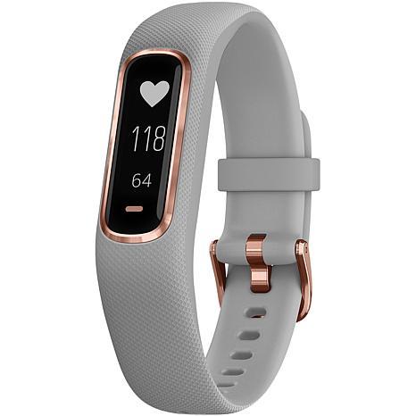 Garmin Vivosmart® 4 Gray/Rose Gold Activity Tracker