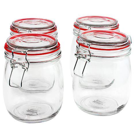 General Store Lake House 4 Piece 22 oz. Preserving/Storage Jar Set ...