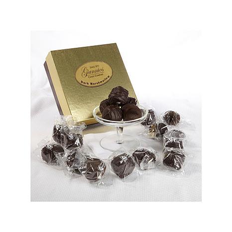 Giannios 1 lb. of Dark Choc. Marshmallows in Golden Box