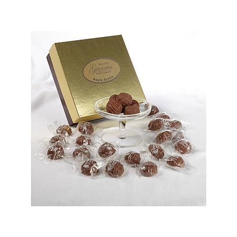 Giannios 1 lb. of Maple Cream Choc. in a Golden Box