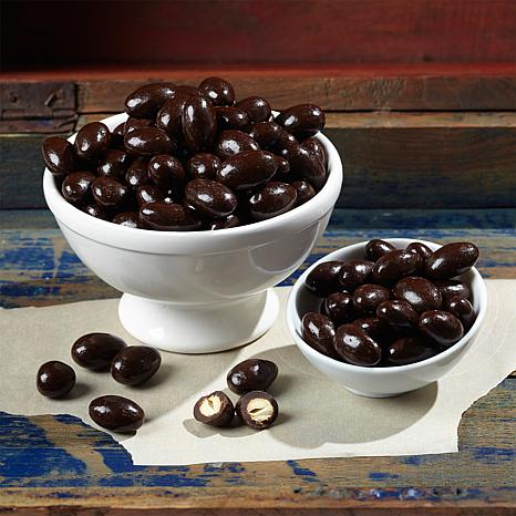Giannios 10 oz. Dark Chocolate Almonds - 2-pack
