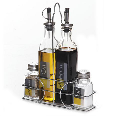 Gibson Home 9-Piece  Condiment Set