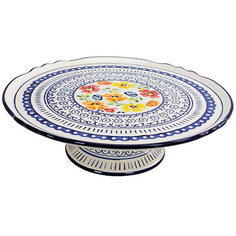 """Gibson Home Central Station 12"""" Cake Stand"""