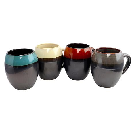 Gibson Home Soroca 4-piece Assorted Mug Set