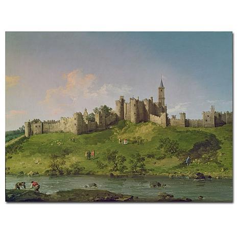 "Giclee Print - Alnwick Castle 32"" x 24"""
