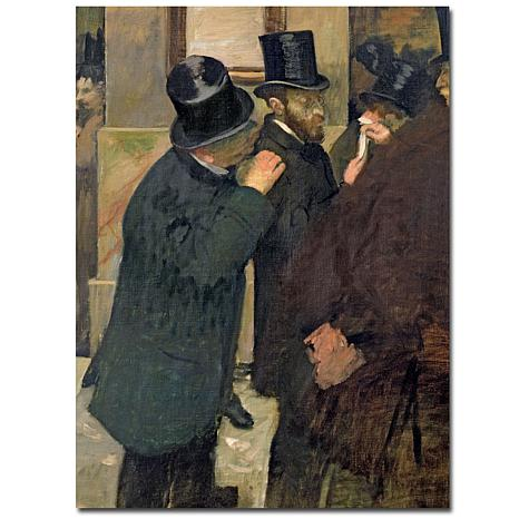 Giclee Print - At the Stock Exchange, 1878