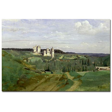 Giclee Print - View of Chateau de Pierrefonds 1840
