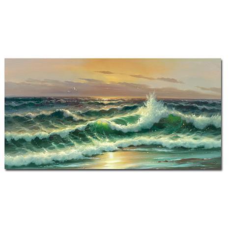 """Giclee Print - Waves I 32"""" x 16"""""""