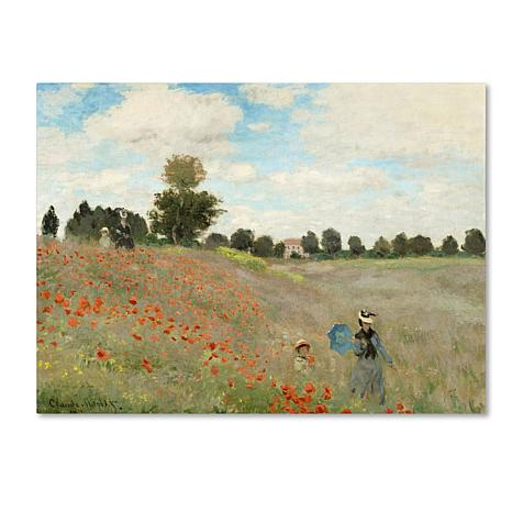 "Giclee Print -  Wild Poppies Near Argenteuil 19"" x 14"""