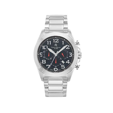 Giorgio Milano Men's Stainless Steel Chronograph Watch