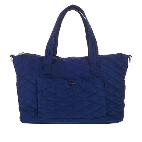 Girlfriend Gear Diamond Quilt Soft Satchel Travel Bag