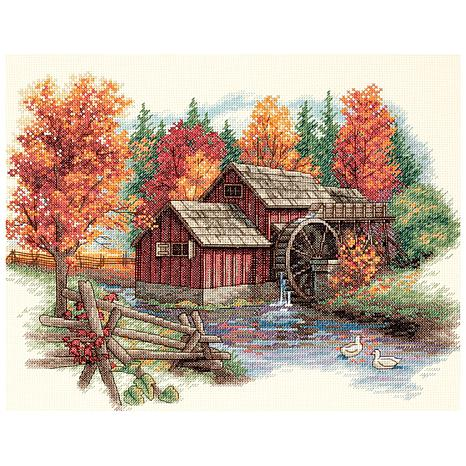 Glory Of Autumn Counted Cross-Stitch Kit