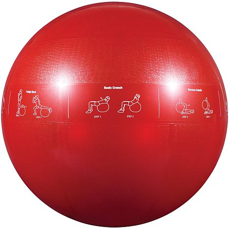 GoFit Stability Ball and Core Performance Training DVD