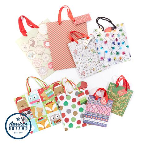 Gogo holiday gift bag 8 pack 8564188 hsn gogo holiday gift bag 8 pack negle