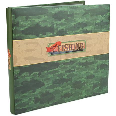 "Gone Fishing Postbound 12"" x 12"" Album"
