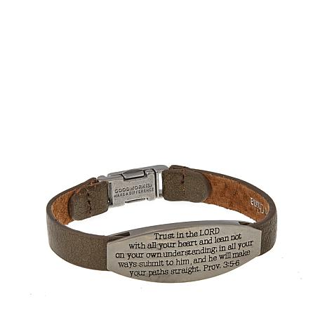 Good Work S His Words That Give You Hope Proverb 3 5 6 Bracelet