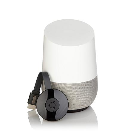 Google Home Smart Assistant and Chromecast w/Daily Burn