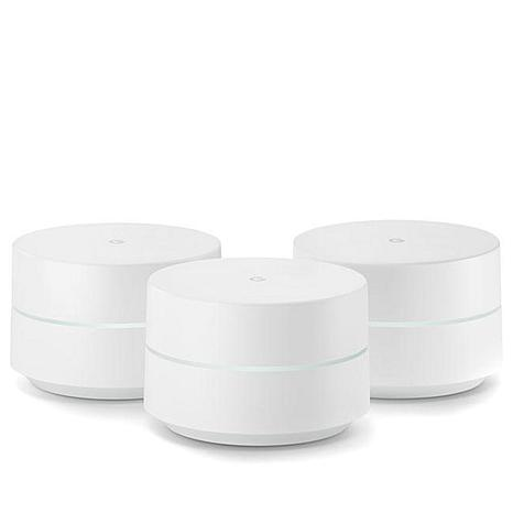 Google Wi-Fi 3-pack AC1200 Dual-Band Routers