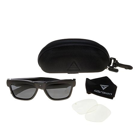 GoVision 1080p HD Video-Capture Glasses with 2 Sets of Lenses