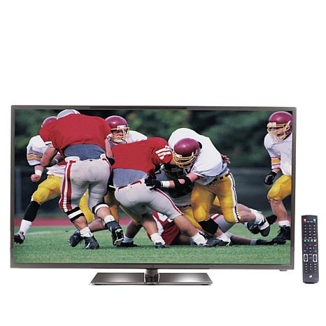 "GPX 50"" LED 1080p HDTV with Built-In DVD Player & HDMI"