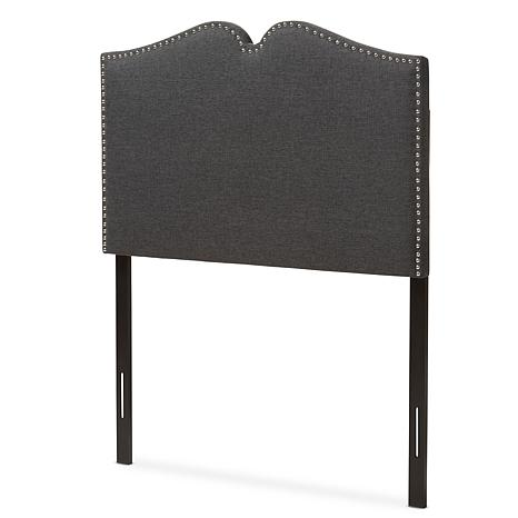 Gracie Upholstered Headboard with Nail Head Trim