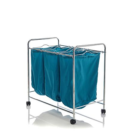 Hable Construction 3-Bag Rolling Laundry Sorter