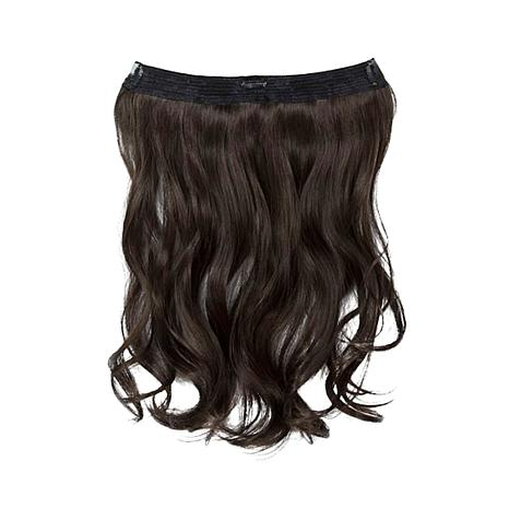 Hair2wear christie brinkley hair extension 16 dark brown hair2wear christie brinkley extension 16 dark brown pmusecretfo Image collections