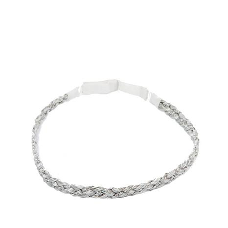 Hair2wear Double Braid Headband - Light Gray