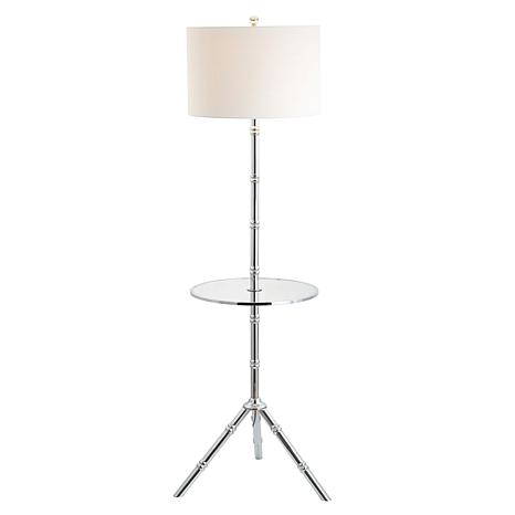 """Hall 62"""" Metal LED End Table Floor Lamp by JONATHAN Y"""
