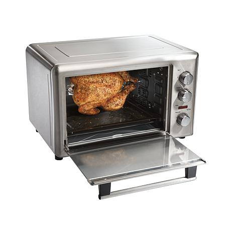 Countertop Convection Oven Food Network : ... Model # 31103 Countertop Oven with Convection and Rotisserie Functions