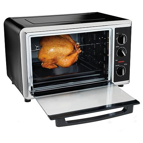 Countertop Convection Oven Food Network : ... Model # 31105 Countertop Oven with Convection and Rotisserie Functions