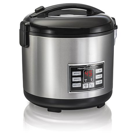 Hamilton Beach 4-20 Cup Rice/Hot Cereal Cooker