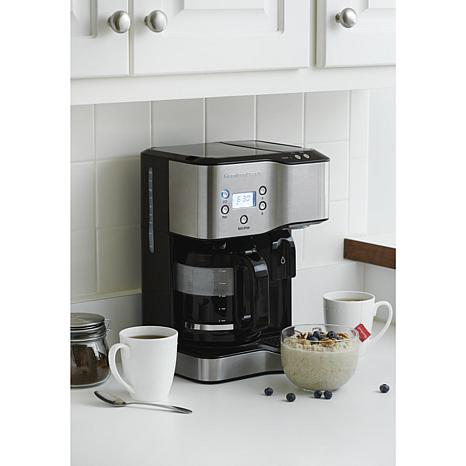 Hamilton Beach Coffee Maker and Hot Water Dispenser - 8314083 HSN