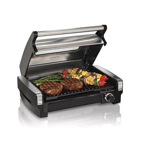 Hamilton Beach® Searing Grill with Lid Window