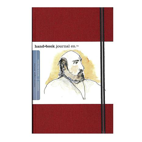 Hand Book Journal Co. Travelogue Drawing Journals - Portrait Red