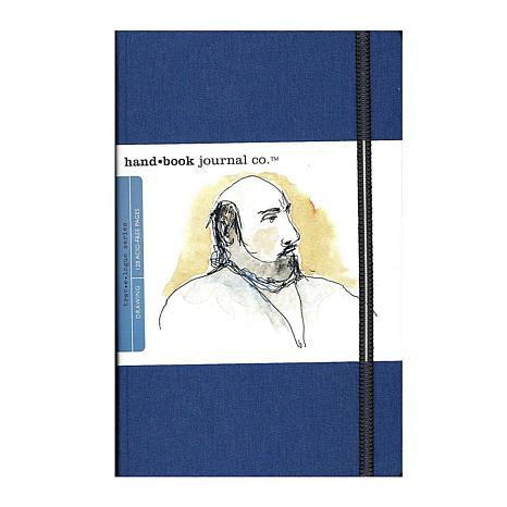 Hand Book Journal Co. Travelogue Drawing Journals Portrait Ultramarine