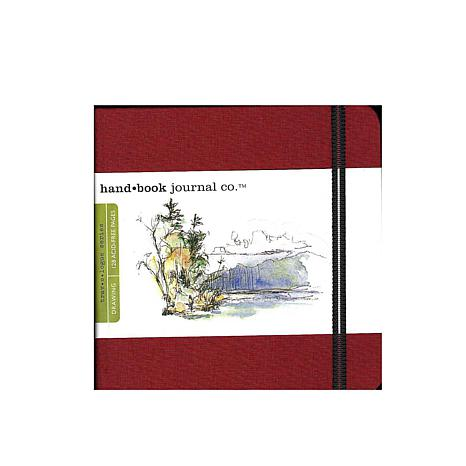 Hand Book Journal Co. Travelogue Drawing Journals - Square Red
