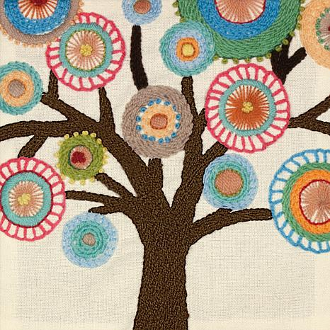 Handmade Collection Tree Crewel Embroidery Kit 6671924 Hsn