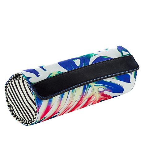 Hang Accessories Jewelry Roll Travel Organizer - Printed