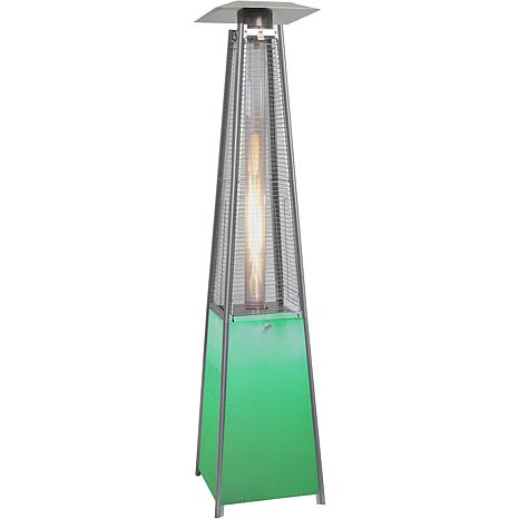 Hanover 42,000 BTU Propane Patio Heater with LED Light