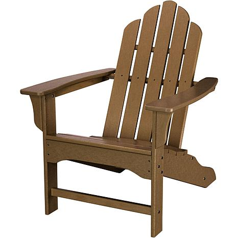 Hanover All-Weather Contoured Adirondack Chair - Teak