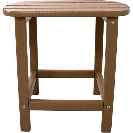 Hanover All-Weather Side Table - Teak