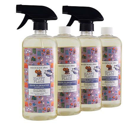 Happy Place Odor Eliminator 4 20 oz. Bottle Set