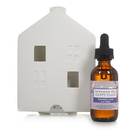 Happy Place Ultrasonic House Diffuser w/2 oz. Fragrance - Lavender