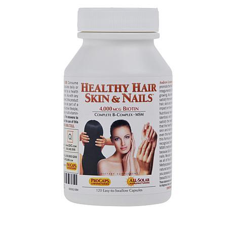 Healthy Hair, Skin and Nails - 120 Capsules
