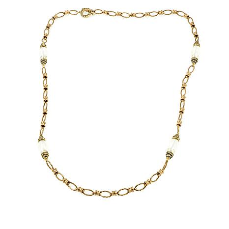 """Heidi Daus """"Chain of Command"""" Layering Necklace"""