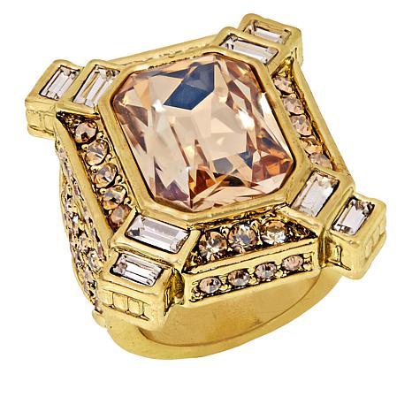 "Heidi Daus ""Estate Splendor"" Crystal Ring"