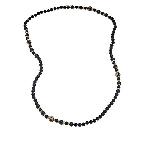 """Heidi Daus """"Finishing Touch"""" 36"""" Beaded Necklace"""