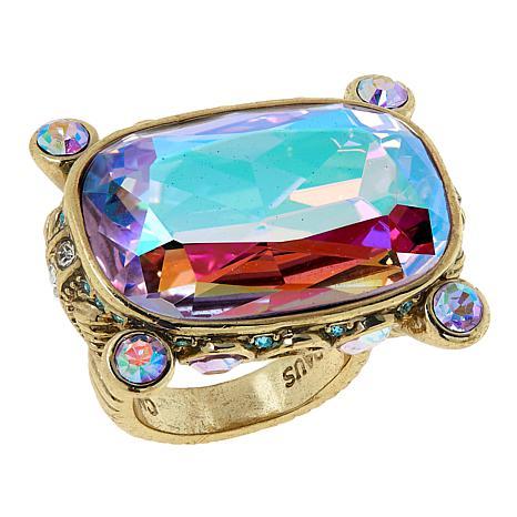 """Heidi Daus """"Gorgeous Rocks"""" Ring"""